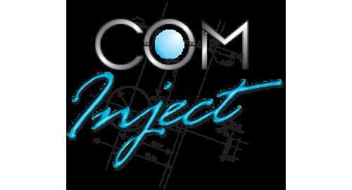 Logo Com'Inject, fabricant de pièces plastiques